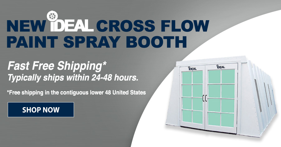 iDEAL Cross Flow Paint Booth
