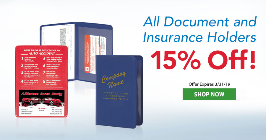 Insurance Holders 15% Off