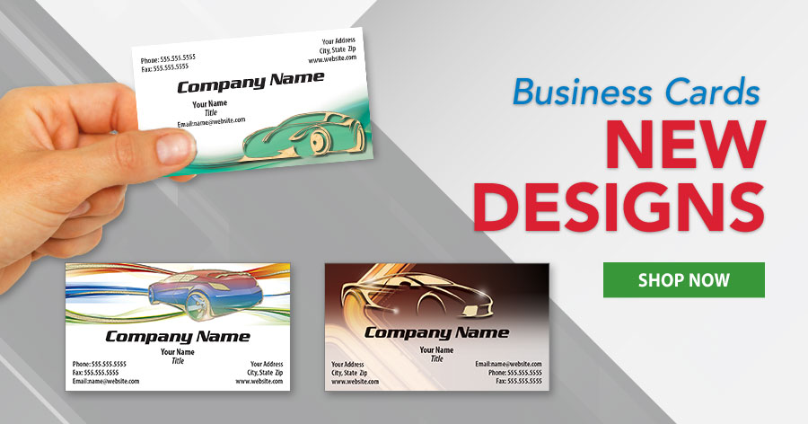 New Foil Business Card Designs