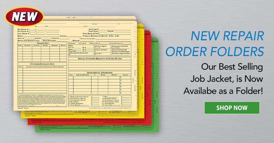 New Repair Order Folders