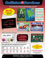 Collision Services Christmas Card E-Catalog