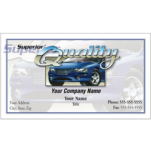 Auto Repair Business Cards - Superior Quality