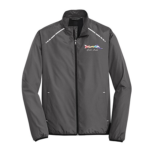 P/A Jacket Zephyr Reflective Hit Full-Zip