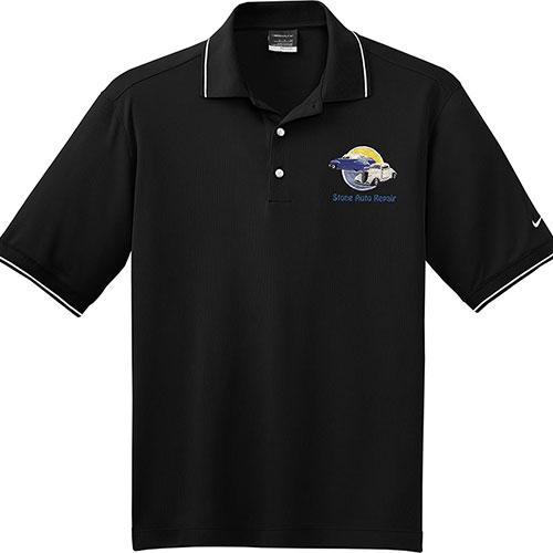 Nike Sport Dri-Fit Classic Tipped Collar