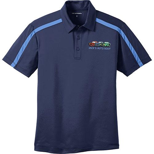 P/A Sport Silk Touch Colorblock Stripe