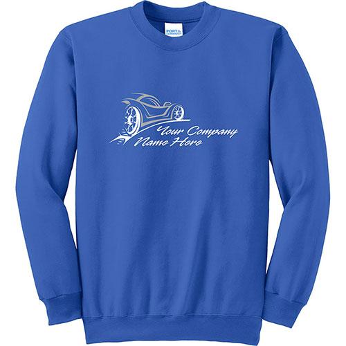Custom P/C Sweat Fleece Pullover