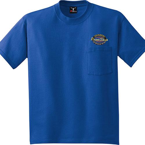 Hanes T-Shirt Beefy-T 100% Cotton w/Pocket