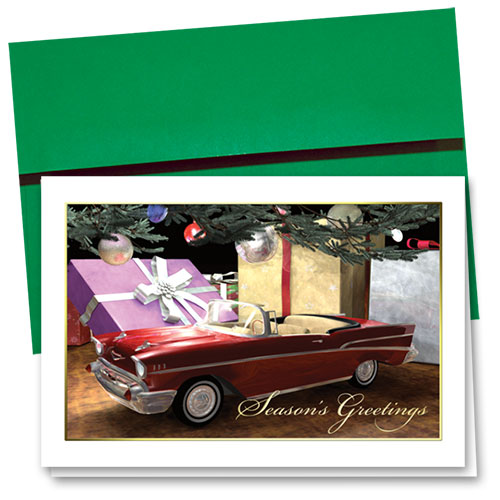 Personalized Deluxe Full-Color Holiday Cards - Cherished Gift