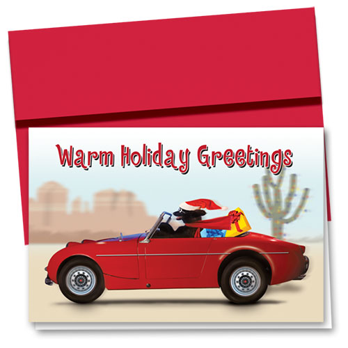 Personalized Deluxe Full-Color Holiday Cards - Warm Holiday