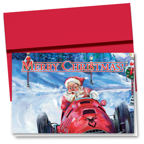 Personalized Deluxe Full-Color Holiday Cards - Christmas Competition