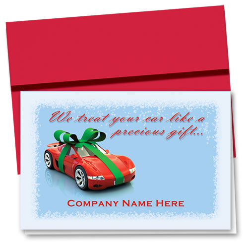 Double Personalized Full-Color Holiday Cards - Precious Gift
