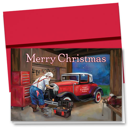 Double Personalized Full-Color Holiday Cards - Vigilant Repair
