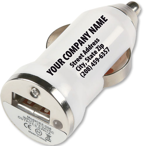 Promotional USB Car Chargers - On-The-Go