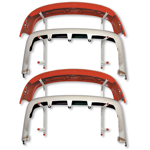 Wall-Mount Bumper Rack