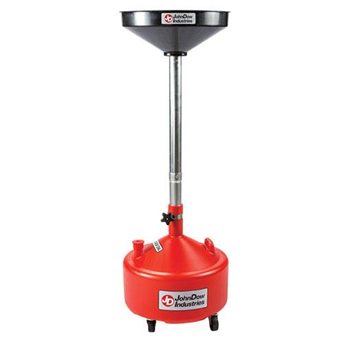 Portable 8 Gallon Poly Oil Drain