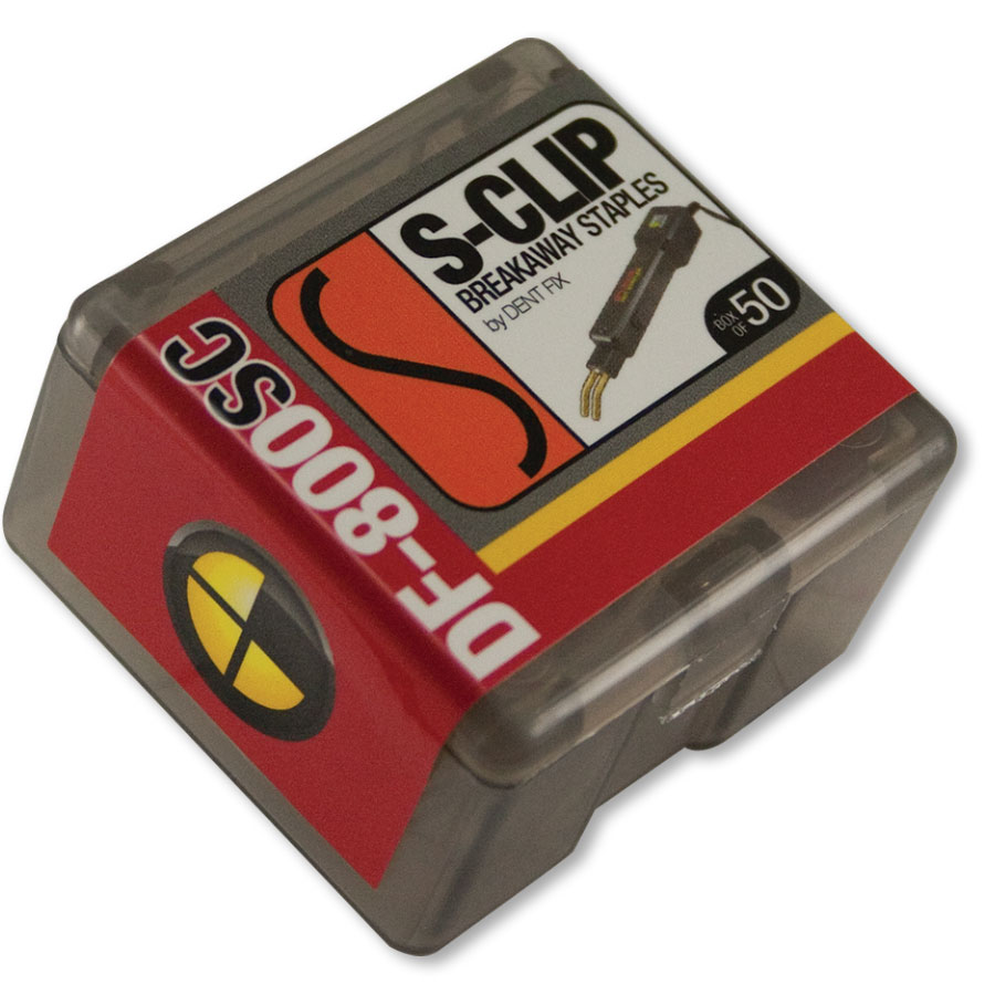 Dent Fix Breakaway Staple - S Clip -Package of 50