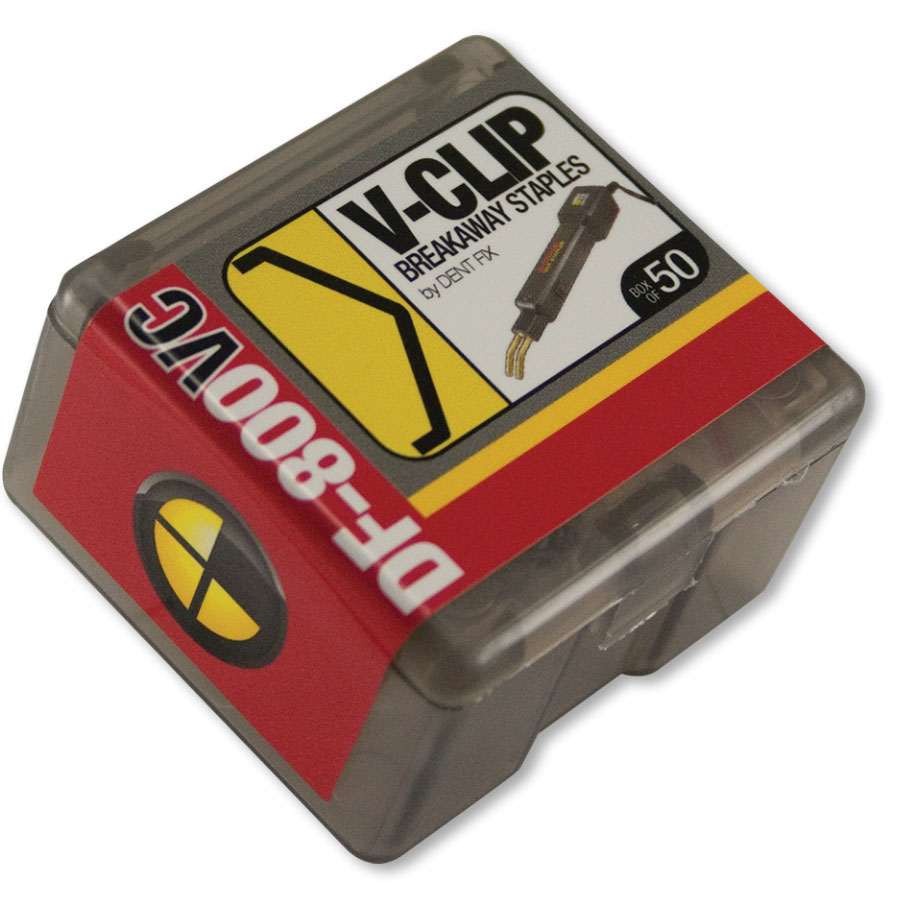 Dent Fix V-Clip Breakaway Staples (50) DF-800VC50