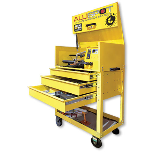 Alu-Spot® DF 900DX Deluxe Aluminum Repair Station by DENT FIX