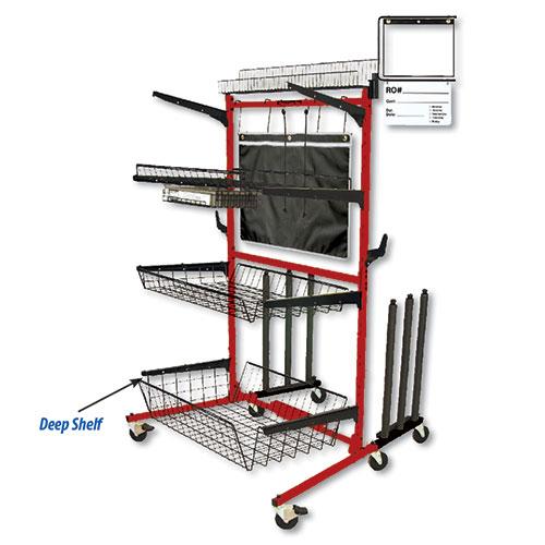 "Parts Caddy PRO Deep Shelf Kit 9"""