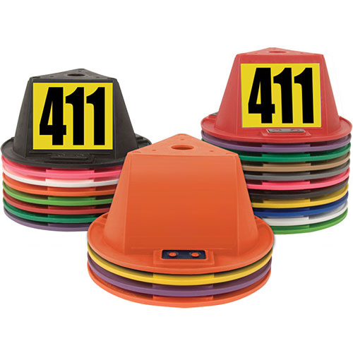 Magnetic Car Hats - Blank or Numbered