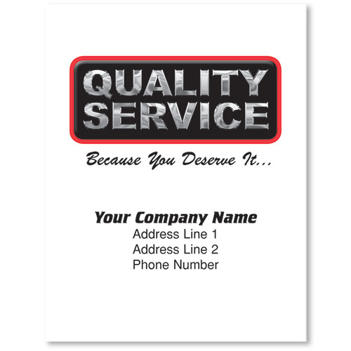 Large Floormats - Quality Service -Imprint