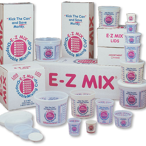 E-Z Mix 1/4 Pint Paper Cups (Case of 400) | Auto Supply