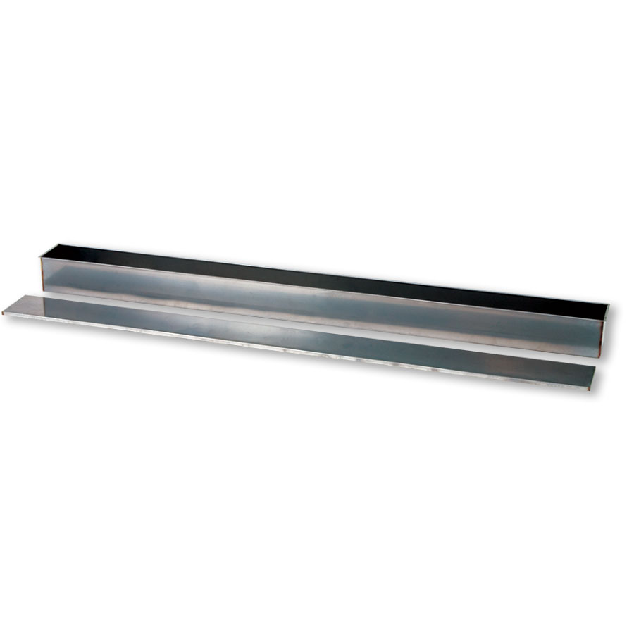 5' Stainless Steel Soaker Tray