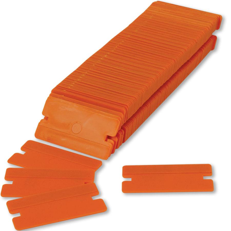 Plastic Razor Blades - Box of 100 | Auto Body Tools
