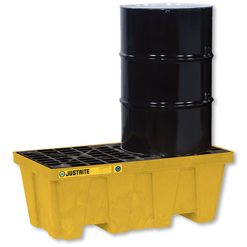 Justrite 2 Drum Spill Containment Pallet
