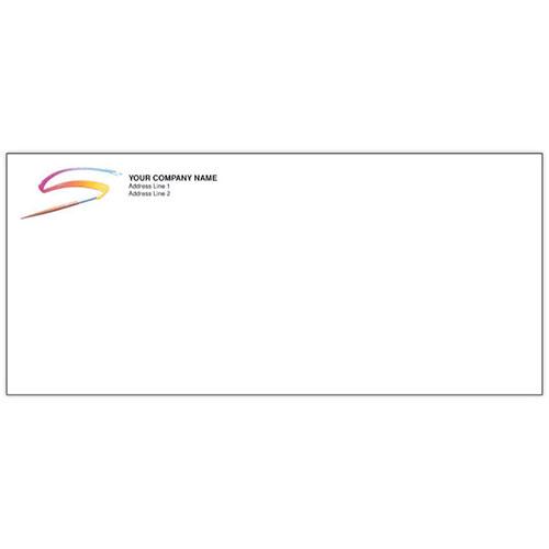 Custom Printed Envelopes (100) - Brush