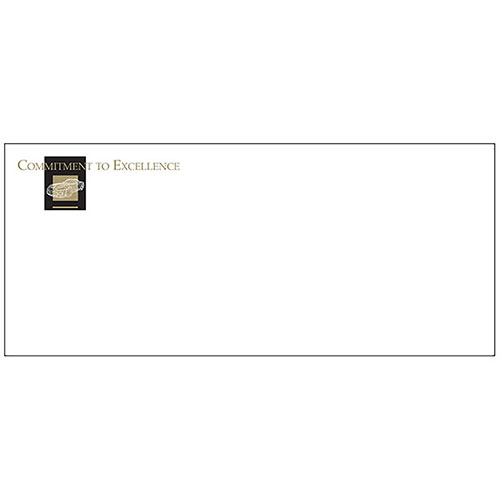 Envelope (100) - Wire Frame Black/Gold