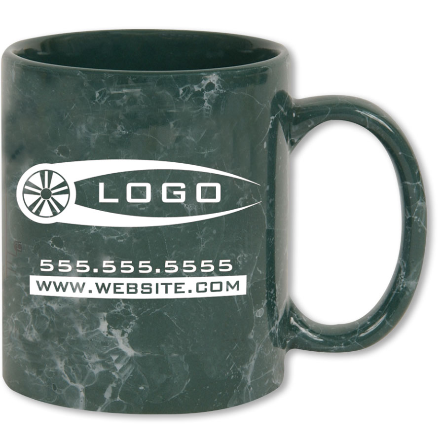Promotional Coffee Mugs Marble Automotive Promotional