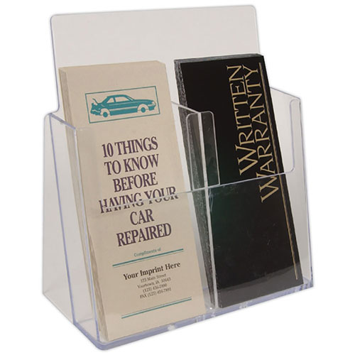 Auto Brochure Holder - Double