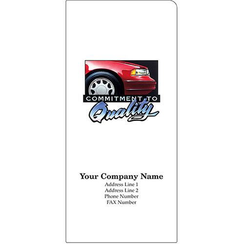 Car Document Folders - Commitment to Quality (125)