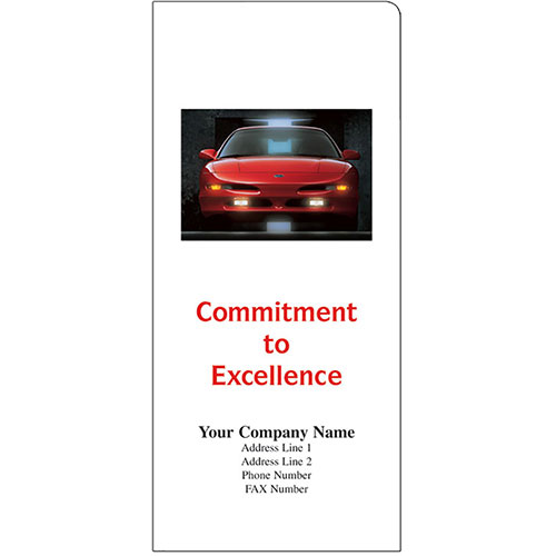 Car Document Folders - Commitment to Excellence (125)