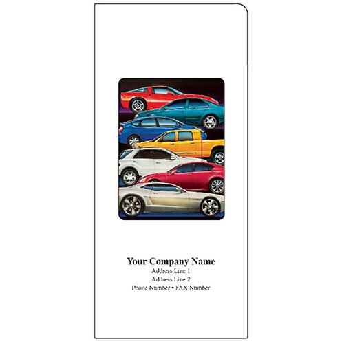 Car Document Folders - Stacked Cars (125)