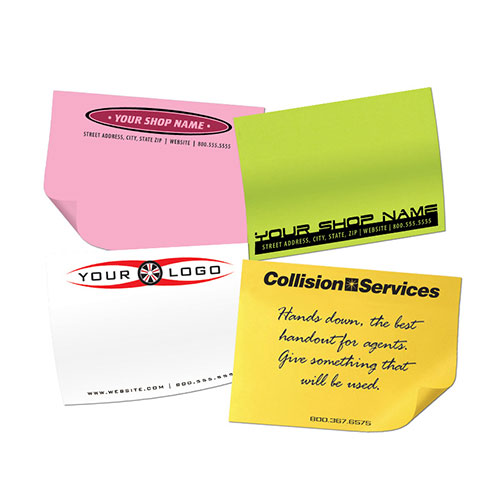 "Post It Notes 3""x4"" 50 Sheets 2 Color"