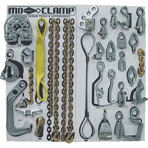 Mo-Clamp Deluxe Tool Board Set 5013