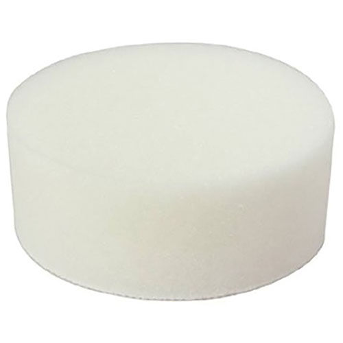 "ASP 3"" Polishing Foam Pad - White"