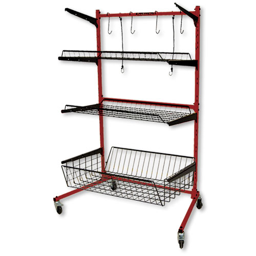 Parts Caddy PRO with Deep Bottom Shelf by PROLific
