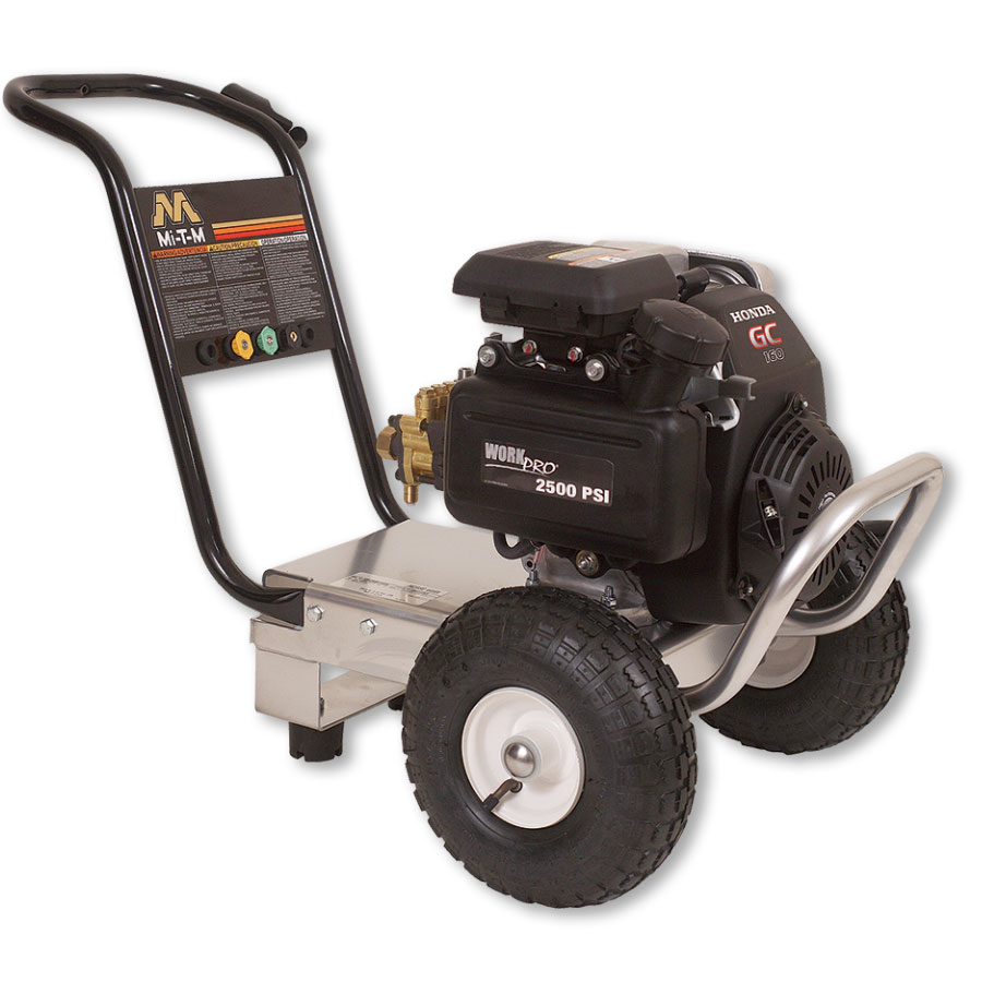 Portable Gas-Powered Pressure Washer 2500 PSI