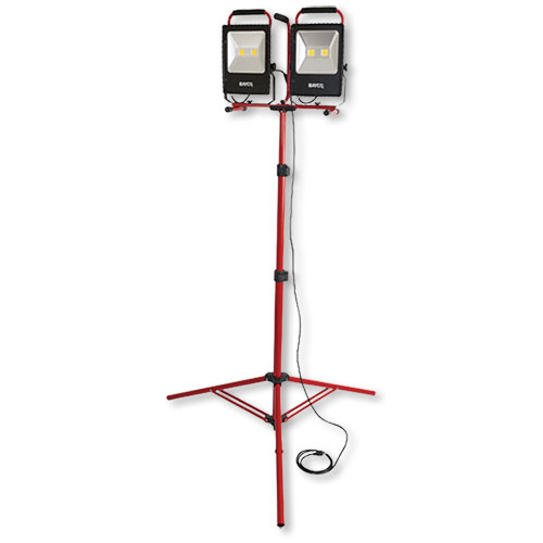 Bayco Dual Fixture Work Light on Tripod