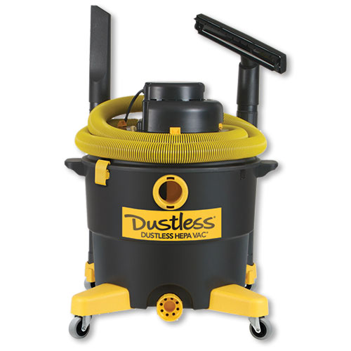 Dustless HEPA Wet/Dry Vacuum