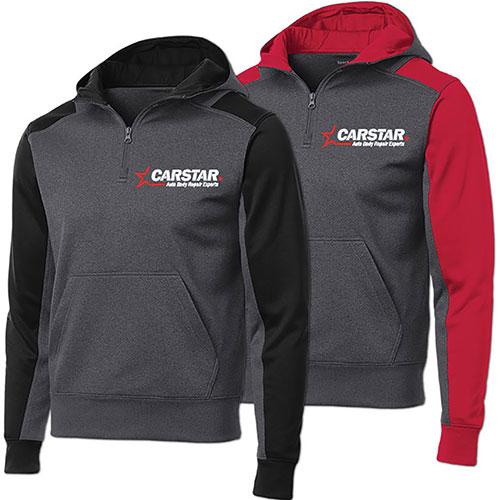 Carstar Colorblock 188 Zip By Sport Tek Sweatshirts T