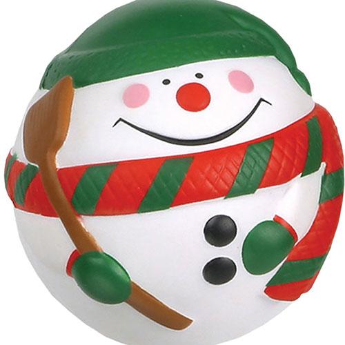Snowman Stress Ball