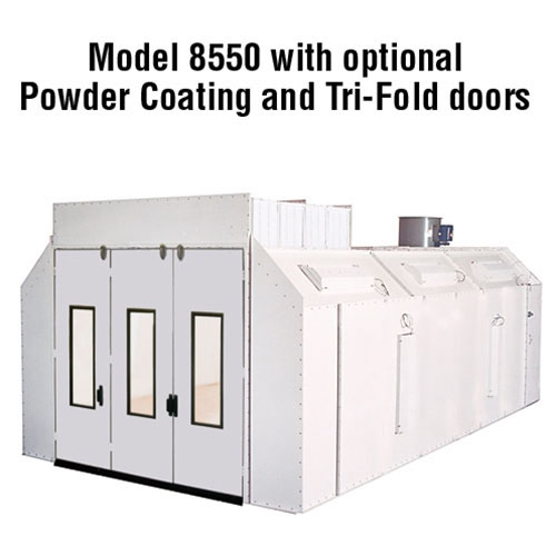 Col-Met White Powder Coating Booth Upgrade 8582