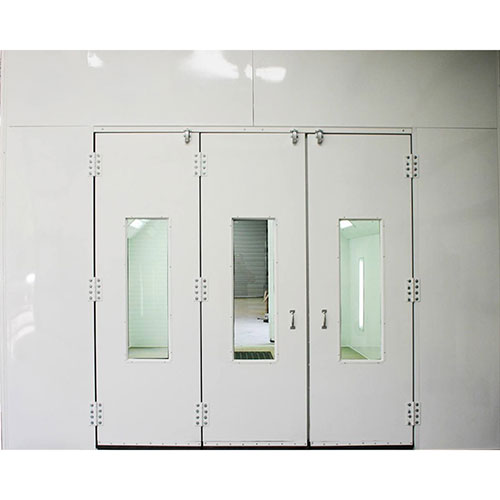 Col-Met Tri-Fold Door with Windows 8599