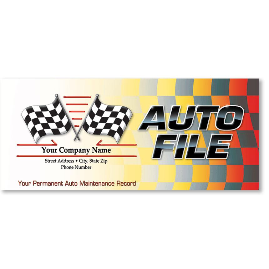 Full-Color Auto Files - Cross Check