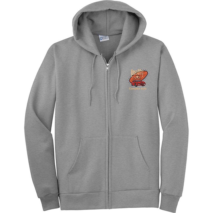 P/C Sweat Fleece Hooded Full-Zip
