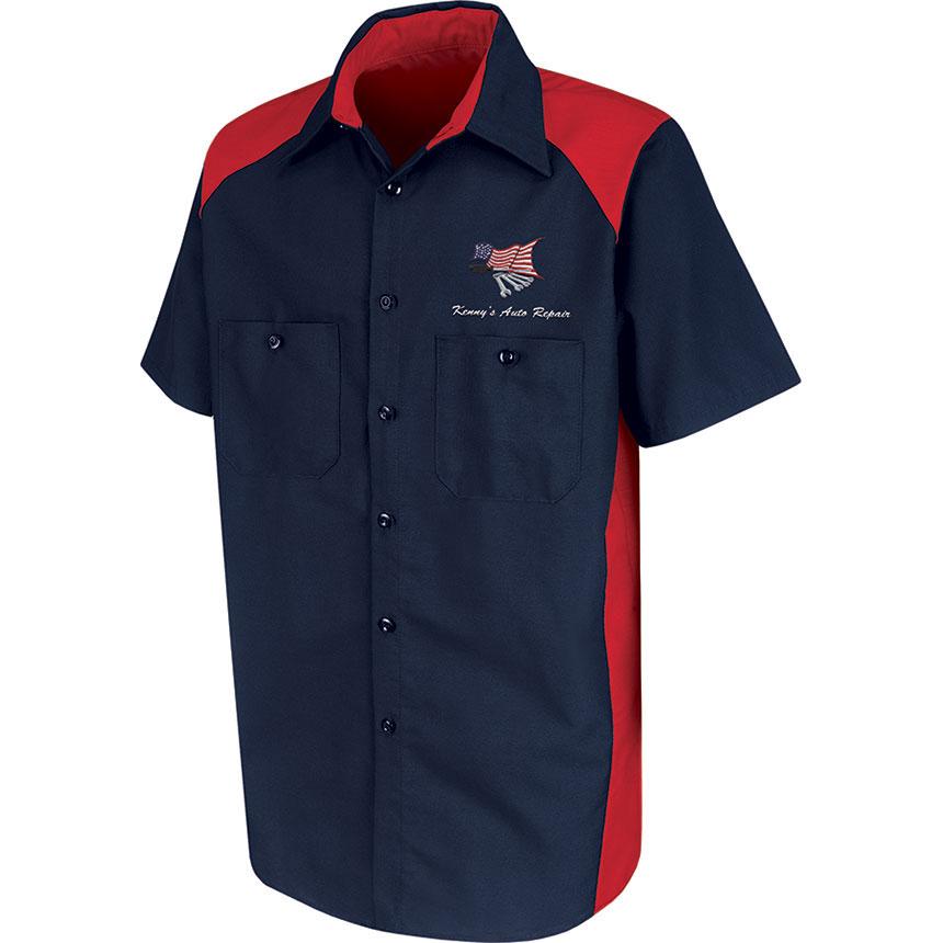 RedKap Work Shirt SS Motorsports Image